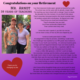 Congratulations on your Retirement (2)